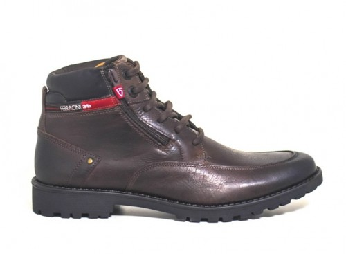 BOTA FERRACINI CROSS MASCULINA 9930517C na cor CAFE