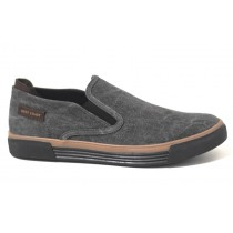 SAPATILHA SLIP ON WEST COAST MASCULINO na cor PRETO
