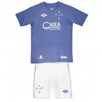 Kit Infantil Umbro Cruzeiro III 2016 na cor AZUL