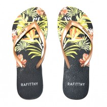 CHINELO RAFITTHY BE FOREVER 91701 na cor PRETO