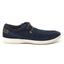 Sapatenis Casual West Coast Windsor 116002 na cor AZUL MARINHO