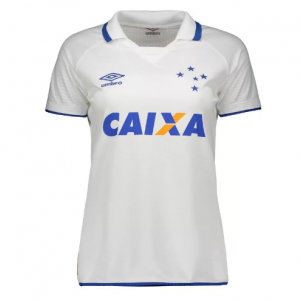 Camisa Umbro Cruzeiro II 2017 Oficial S N Feminina na cor BRANCO 1fba89a3f691d